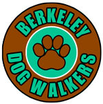 Berkeley Dog Walkers Big Hikes Tired Dogs Mobile Logo